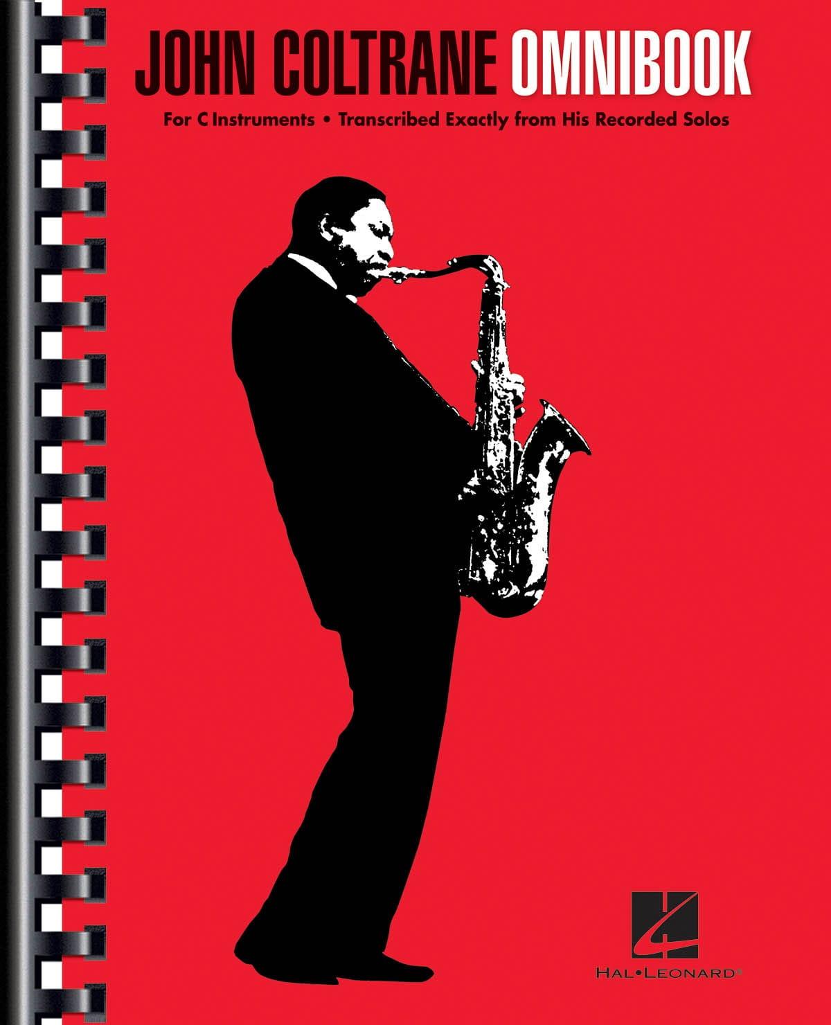 John Coltrane - Omnibook pour instrument en ut - Partition - di-arezzo.fr