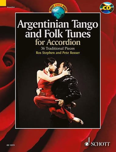 Argentinian tango and folk tunes for accordion - laflutedepan.com