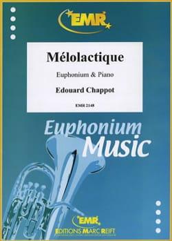 Mélolactique - Edouard Chappot - Partition - Tuba - laflutedepan.com