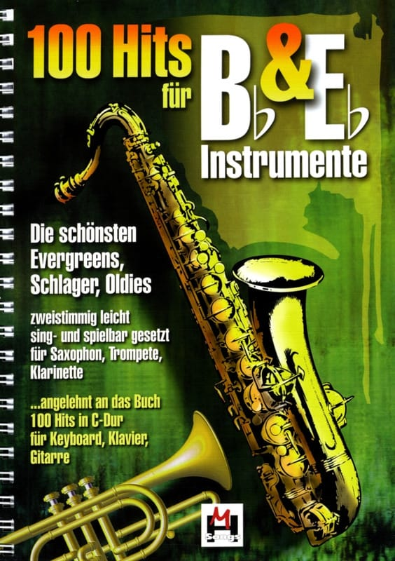 - 100 Hits in duo for Bb and Eb instrument volume 1 - Partition - di-arezzo.co.uk