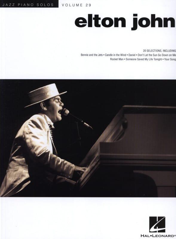 Elton John - Jazz Solos Piano Volume 29 - Elton John - Partition - di-arezzo.com
