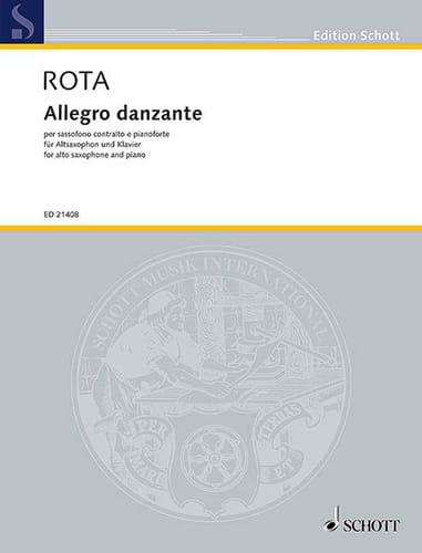 Allegro danzante - Nino Rota - Partition - laflutedepan.com