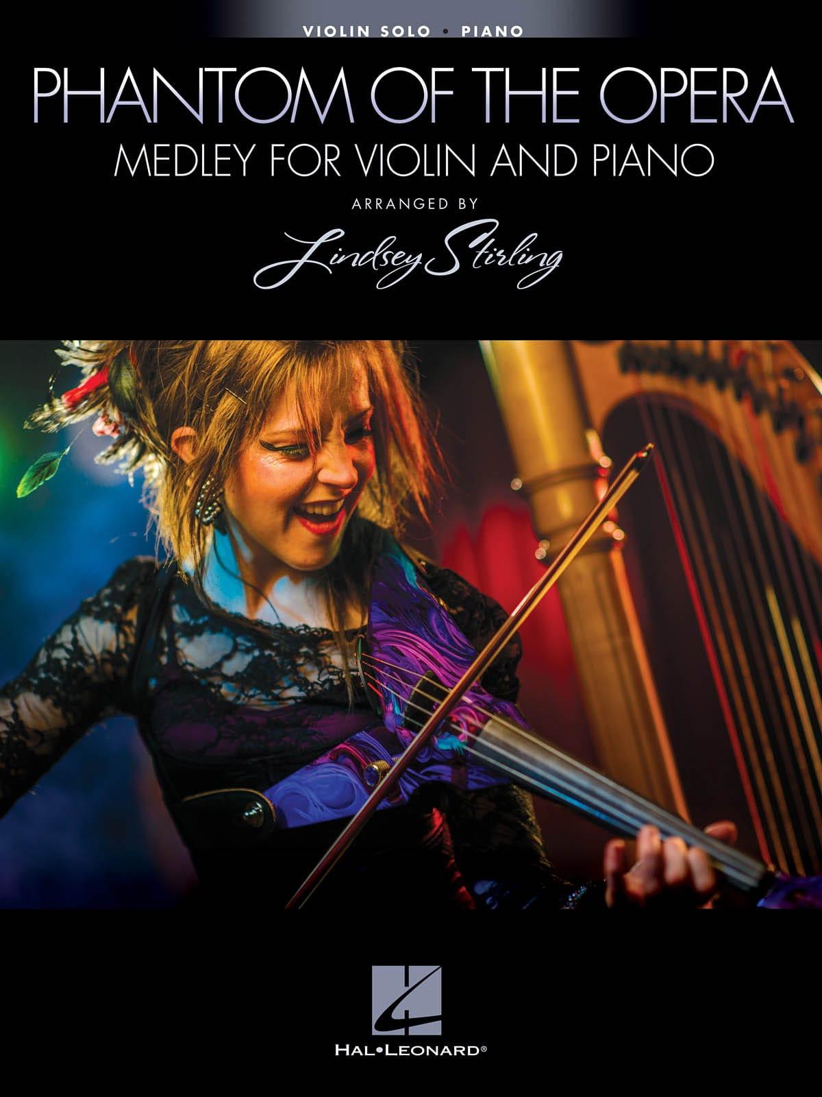 Le fantôme de l'opéra - Medley pour Violon et Piano - laflutedepan.com