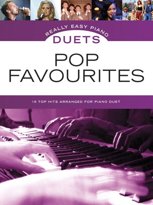 Really easy piano duets - Pop favourites - laflutedepan.com