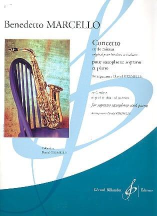 Benedetto Marcello - Concerto en do mineur - Partition - di-arezzo.fr