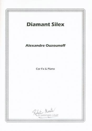 Diamant silex - Alexandre Ouzounoff - Partition - laflutedepan.com