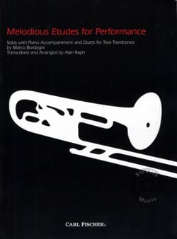 Giulio Marco Bordogni - Melodious studies for performance - Partition - di-arezzo.co.uk