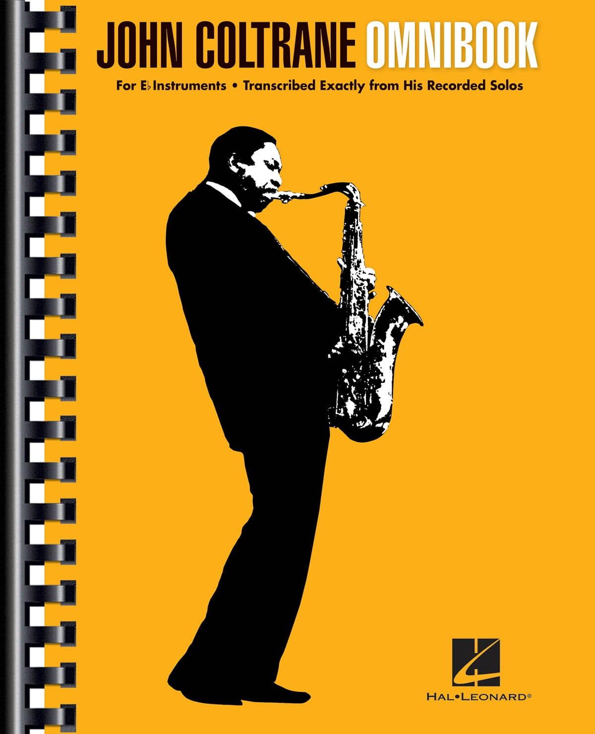 John Coltrane - Omnibook pour instrument en mib - Partition - di-arezzo.fr