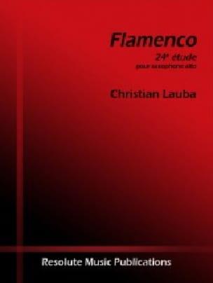 Christian Lauba - Flamenco - 24ème étude - Partition - di-arezzo.fr