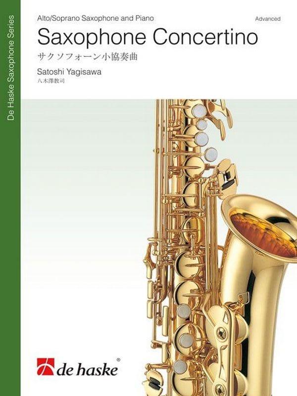 Saxophone concertino - Satoshi Yagisawa - Partition - laflutedepan.com
