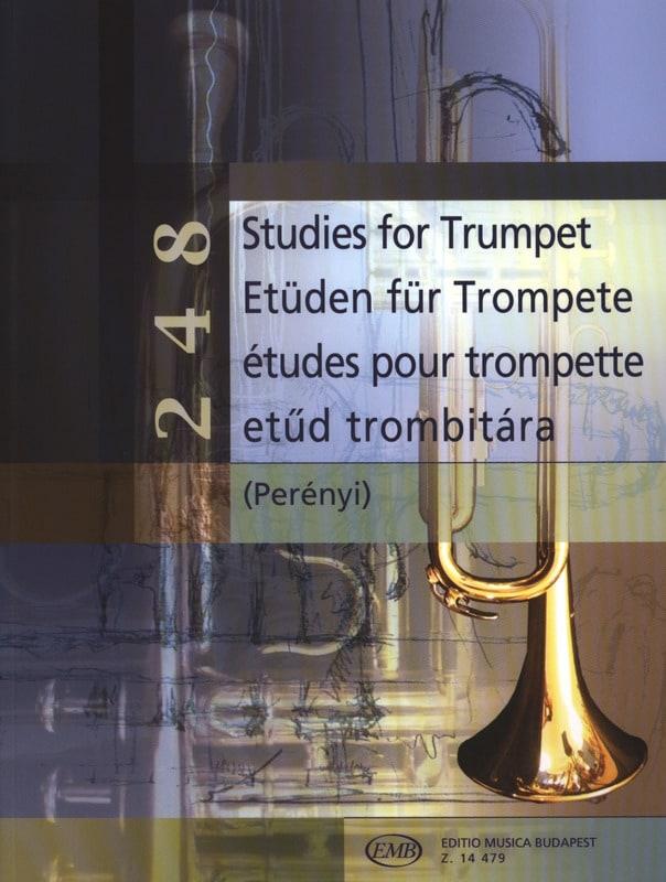 248 Etudes pour trompette - Eva Perenyi - Partition - laflutedepan.com