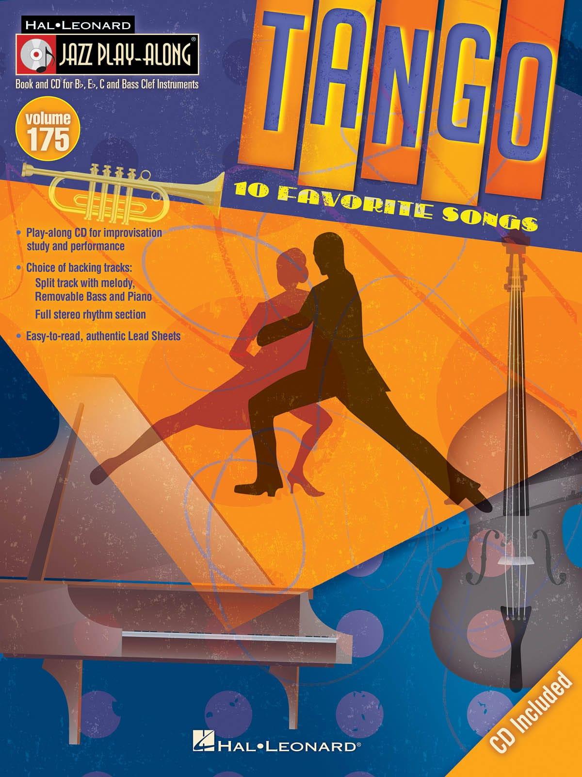 Jazz play-along volume 175 - Tango - Partition - laflutedepan.com