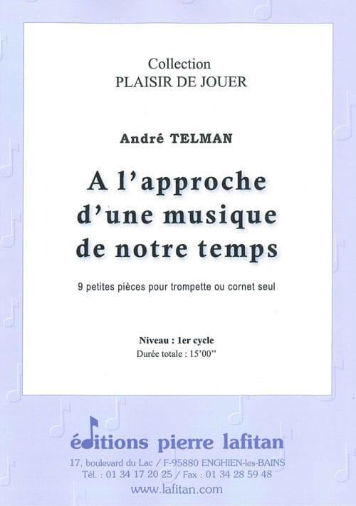 André Telman - A l'approche d'une musique de notre temps - 9 Petites pièces - Partition - di-arezzo.fr