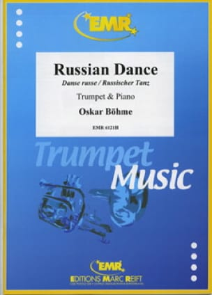 Oskar Böhme - ロシアのダンス - Partition - di-arezzo.jp
