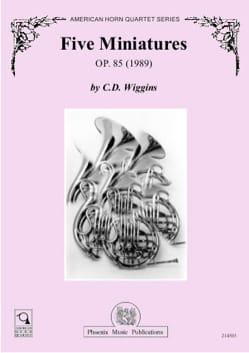 Cinq miniatures opus 85 1989 - laflutedepan.com