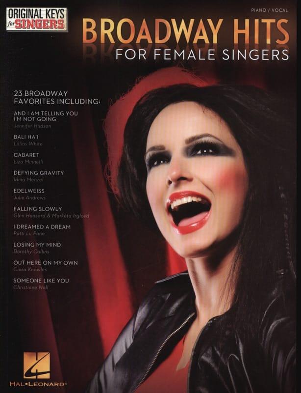 Broadway hits for female singers - Partition - laflutedepan.com