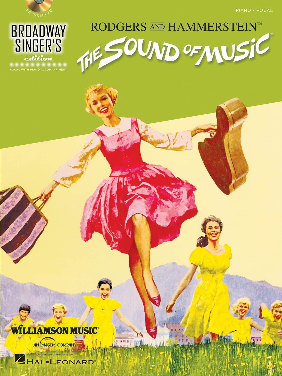 Richard Rodgers - The sound of music - Broadway singer's edition - Partition - di-arezzo.co.uk
