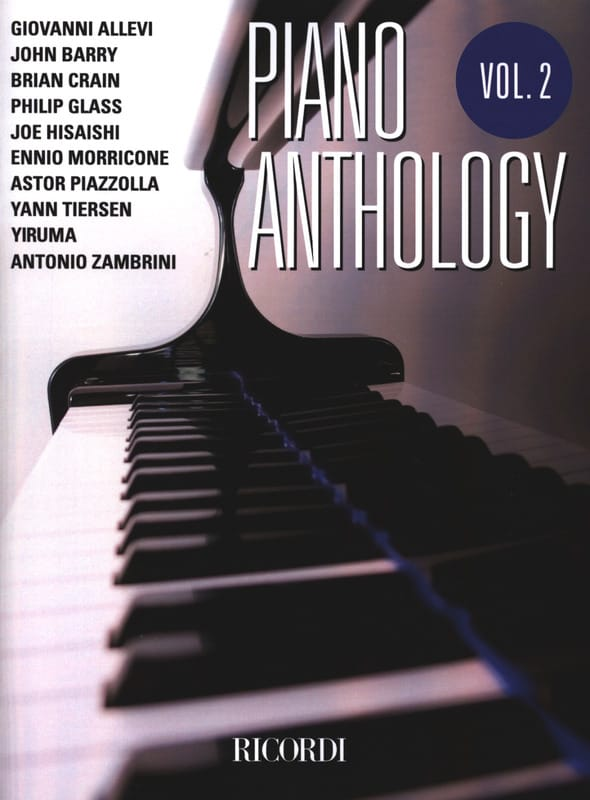 - Piano anthology volume 2 - Partition - di-arezzo.co.uk