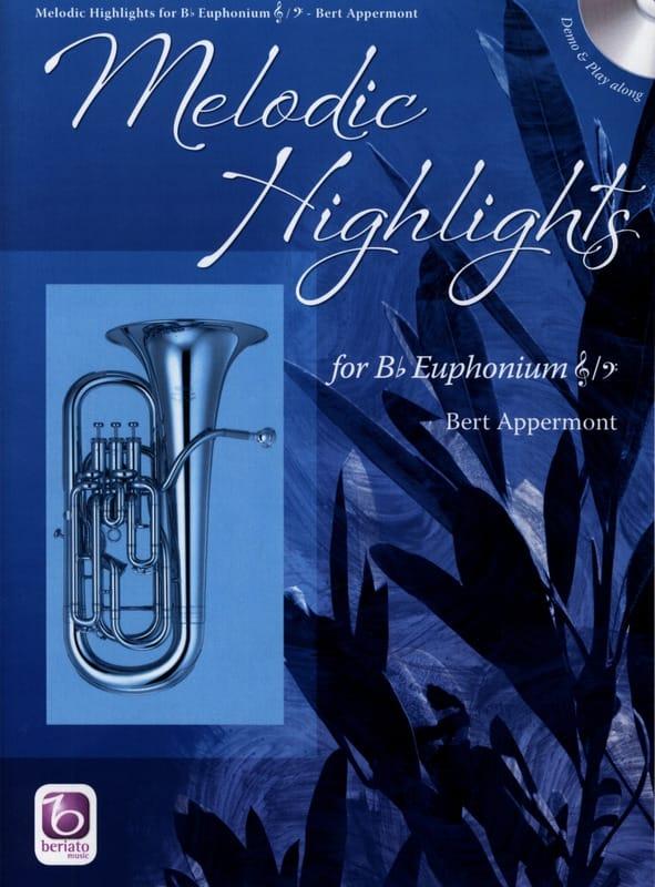 Melodic highlights - Bert Appermont - Partition - laflutedepan.com