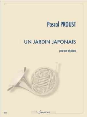 Un jardin japonais - Pascal Proust - Partition - laflutedepan.com