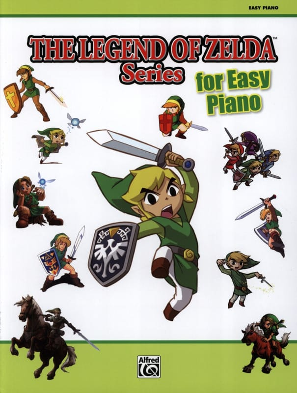 Musique de Jeux Vidéo - The legend of the Zelda series for easy piano - Partition - di-arezzo.co.uk