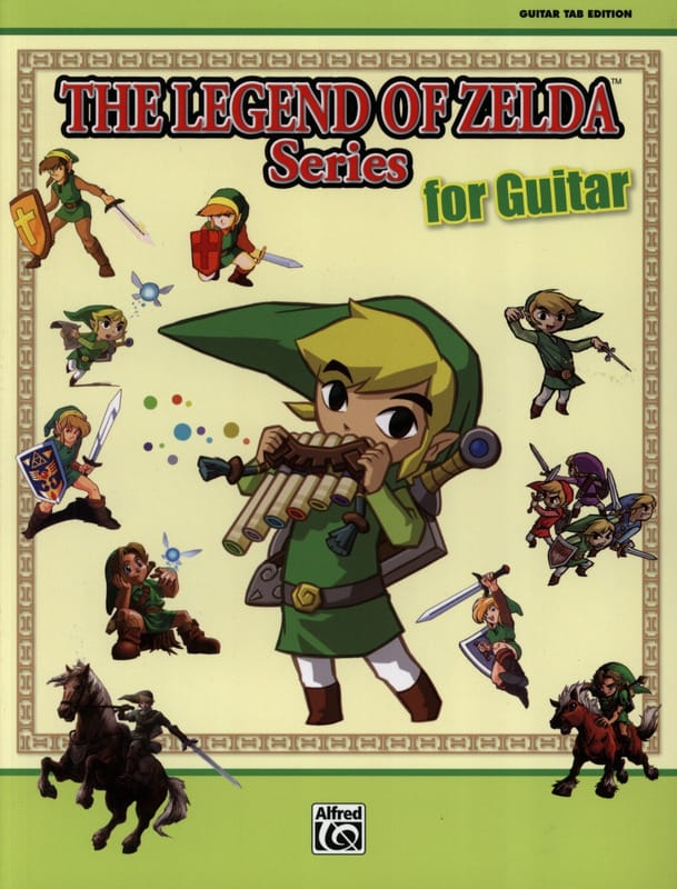 Musique de Jeux Vidéo - The legend of Zelda series for guitar - Partition - di-arezzo.co.uk