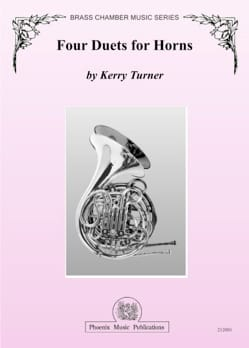 Four duets for horns - Kerry Turner - Partition - laflutedepan.com