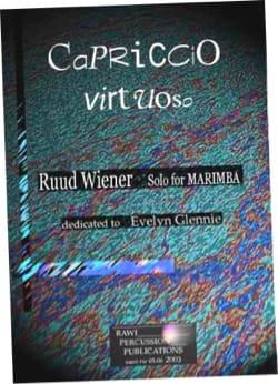 Ruud Wiener - Capriccio virtuoso dedicated to Evelyn Glennie - Partition - di-arezzo.co.uk
