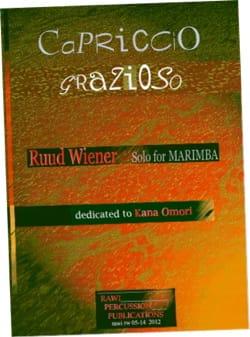 Ruud Wiener - Capriccio grazioso dedicated to Kana Omori - Partition - di-arezzo.co.uk