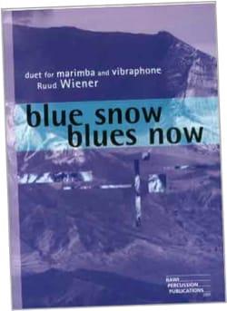 Blue snow - Blues now - Ruud Wiener - Partition - laflutedepan.com