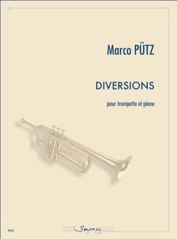 Diversions - Marco Pütz - Partition - Trompette - laflutedepan.com