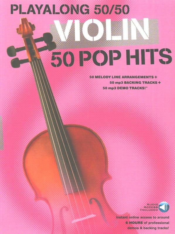 Playalong 50/50 - Violin - 50 Pop Hits - laflutedepan.com