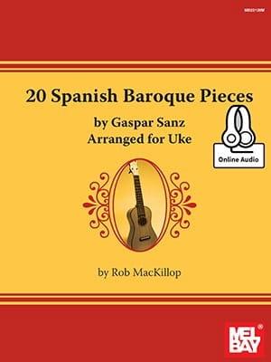 20 Spanish Baroque Pieces - Gaspar Sanz - Partition - laflutedepan.com