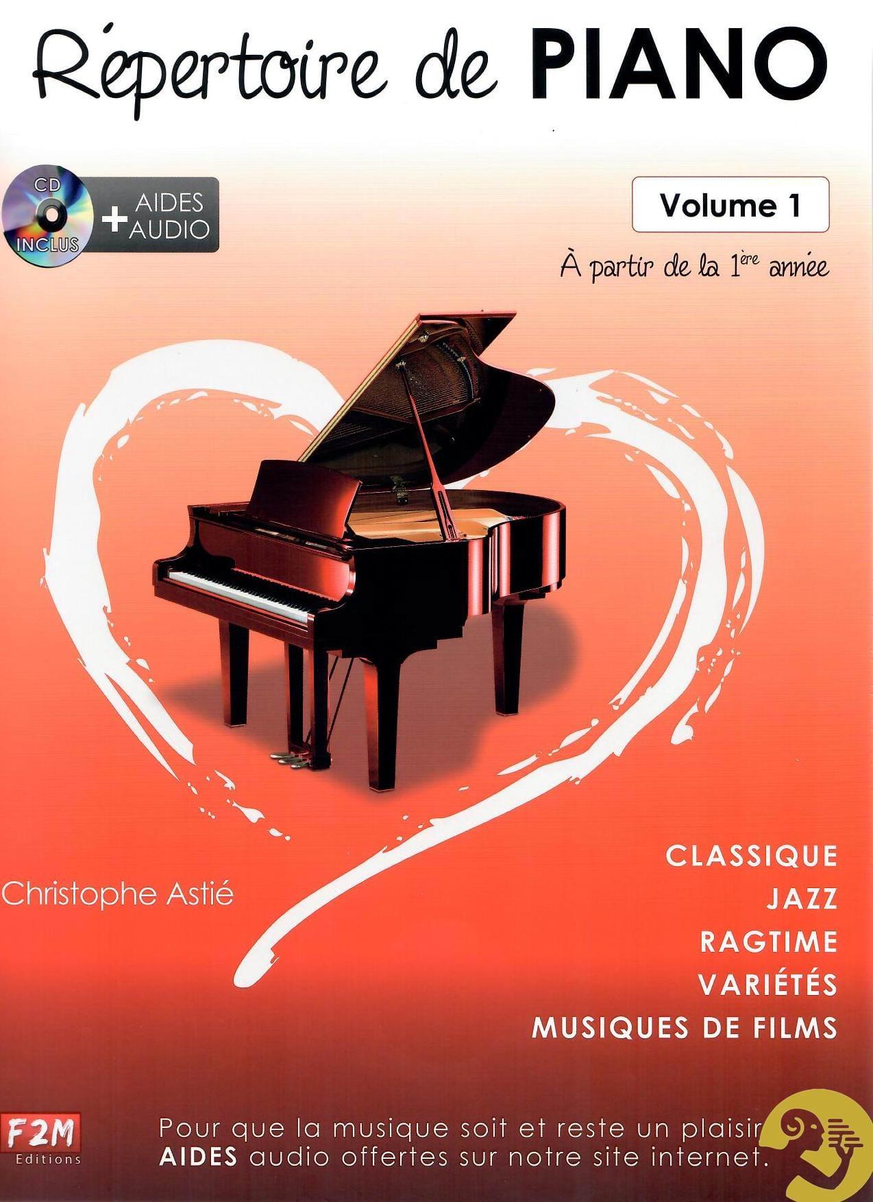 Christophe Astié - Piano Directory Volume 1 - Partition - di-arezzo.com