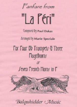 Fanfare from La Peri - DUKAS - Partition - laflutedepan.com