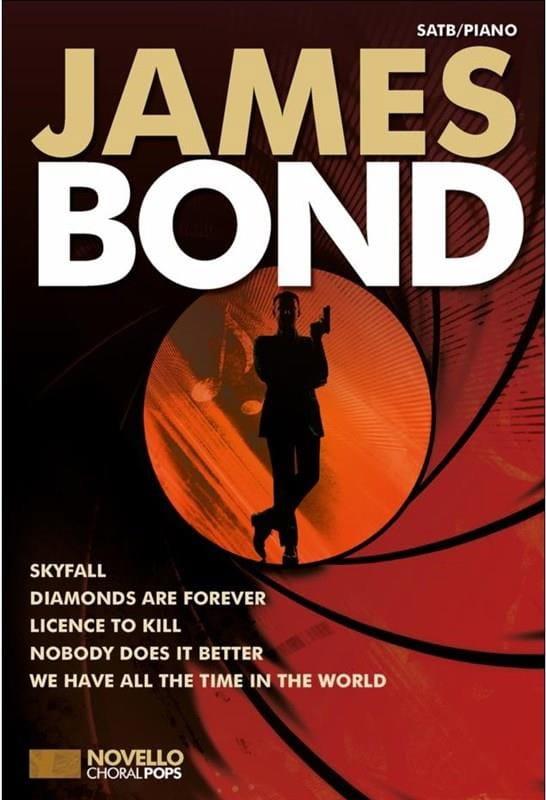 Novello Choral Pops - James Bond - Partition - laflutedepan.com