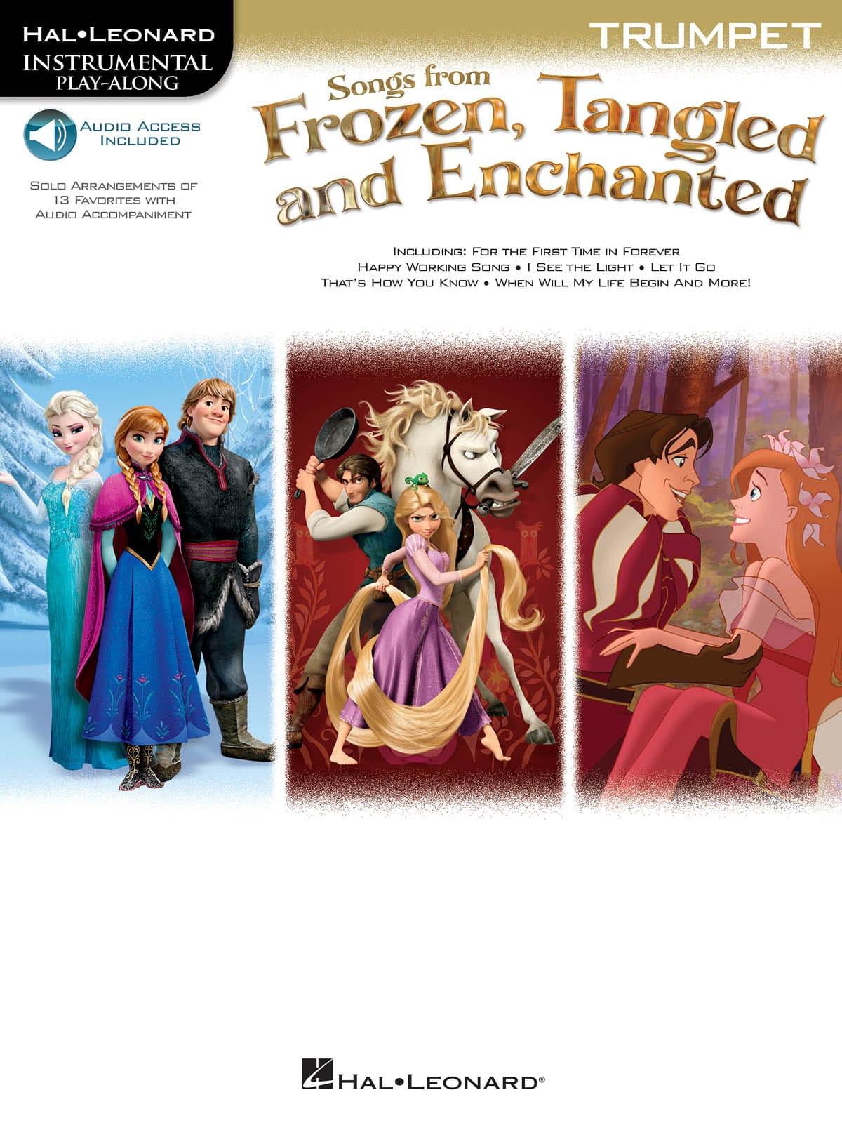 DISNEY - The Snow Queen Rapunzel and Enchanted - Partition - di-arezzo.co.uk