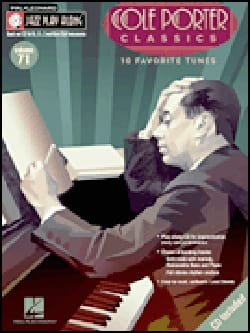 Cole Porter - Jazz-Play Along Volume 71 - Cole Porter Classics - Partition - di-arezzo.fr