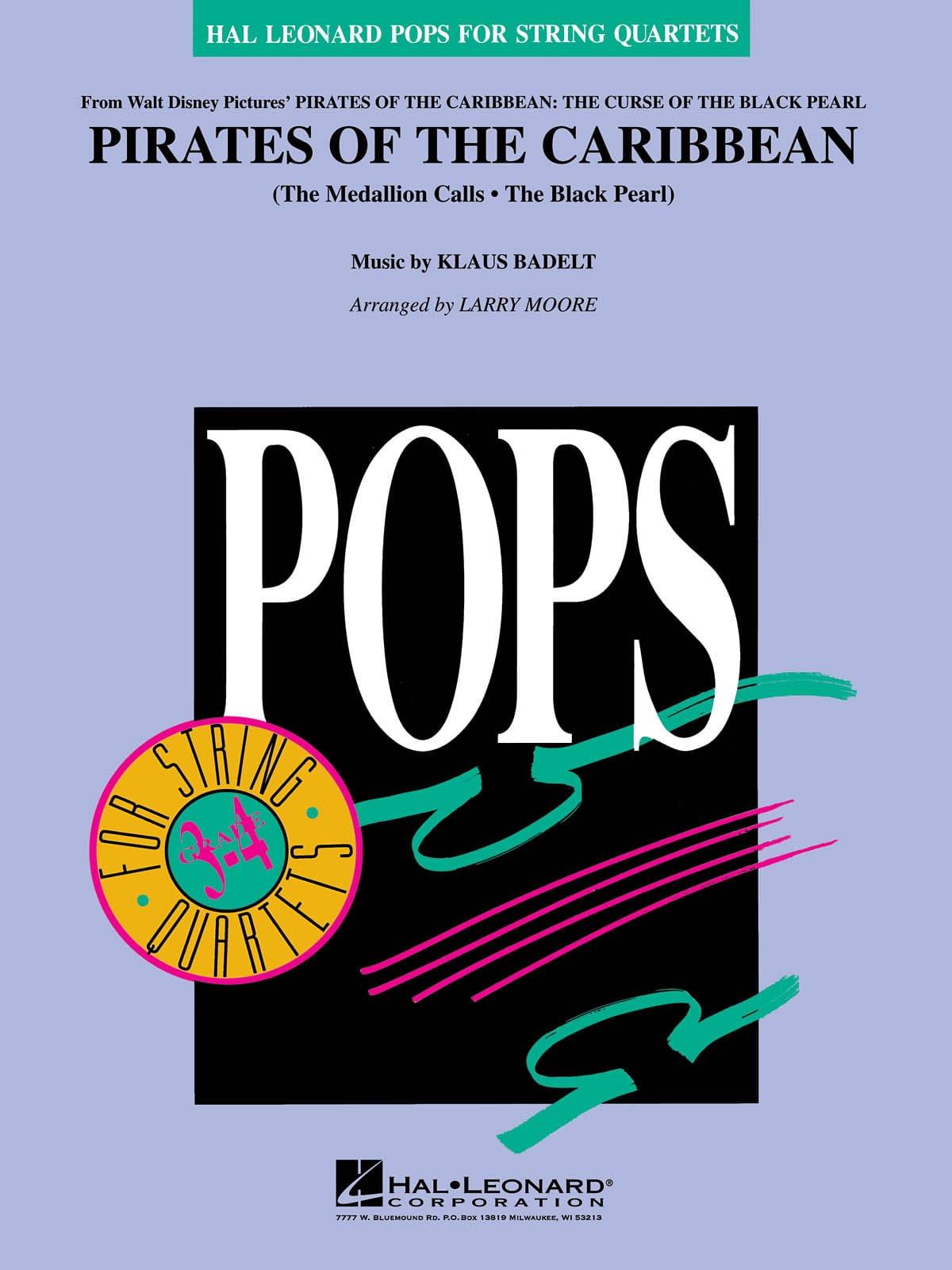 Pirates des Caraïbes - Pops For String Quartets - laflutedepan.com