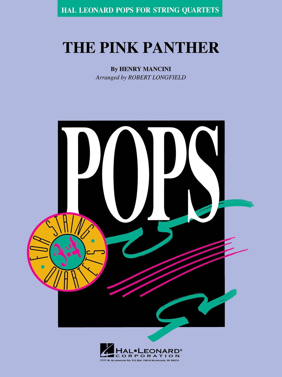 La Panthère Rose - Pops for String Quartets - laflutedepan.com