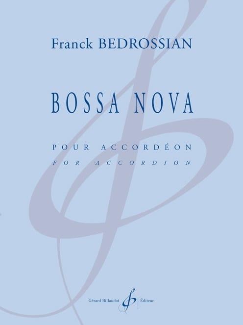 Bossa Nova - Franck Bedrossian - Partition - laflutedepan.com