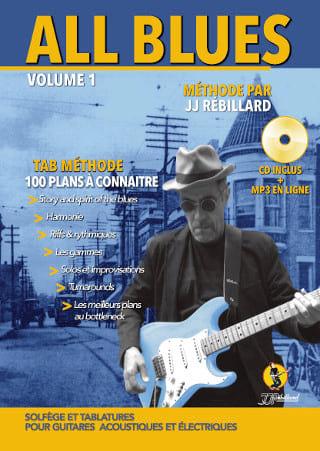 Jean-Jacques Rébillard - All Blues TAB Method - Partition - di-arezzo.co.uk
