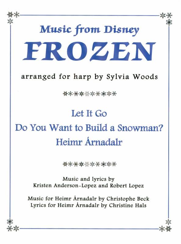DISNEY - The Snow Queen For Harp - Partition - di-arezzo.co.uk