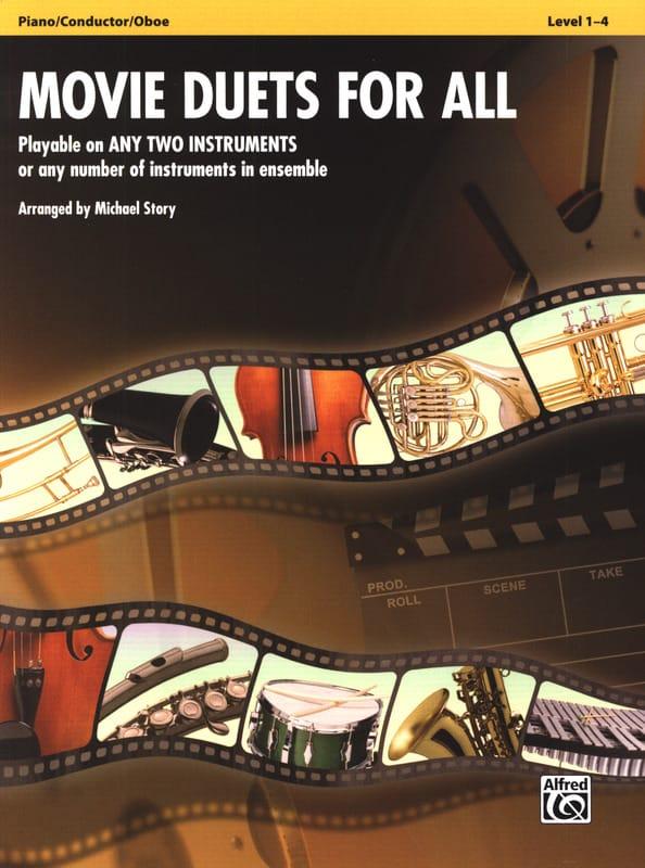 Movie duets for all - Partition - Hautbois - laflutedepan.com