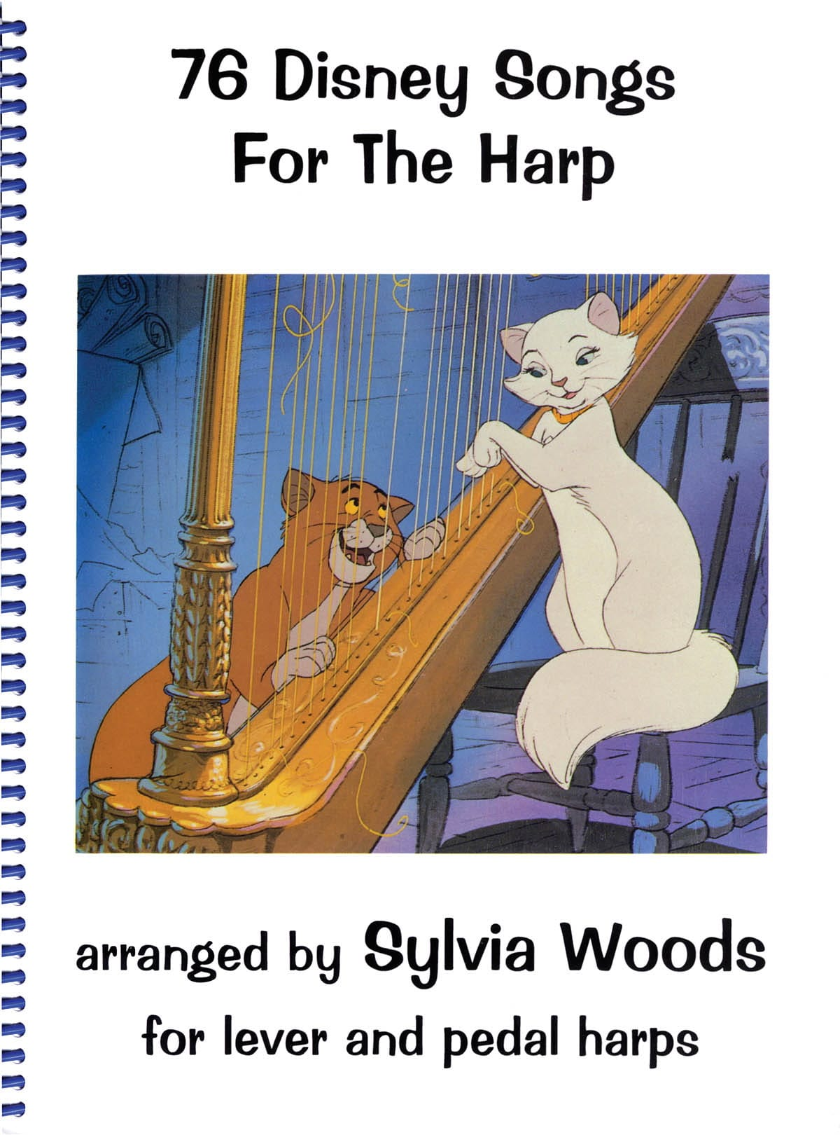 DISNEY - 76 Disney songs for the harp - Partition - di-arezzo.co.uk