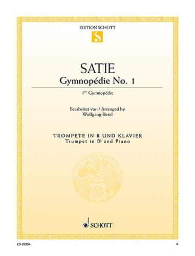 Gymnopédie No. 1 - Erik Satie - Partition - laflutedepan.com