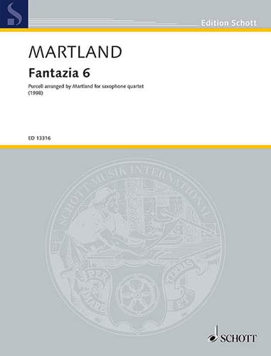 Fantazia 6 - Steve Martland - Partition - laflutedepan.com
