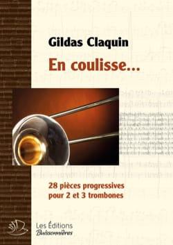 En coulisse... - Gildas Claquin - Partition - laflutedepan.com