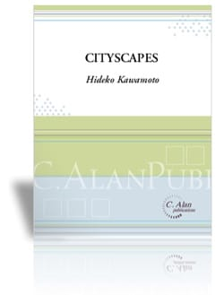Cityscapes - Hideko Kawamoto - Partition - Marimba - laflutedepan.com