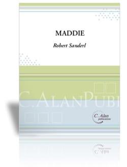 Maddie - Rob Sanderl - Partition - Marimba - laflutedepan.com